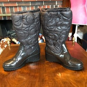 Coach Cantina Boots Size 7.5
